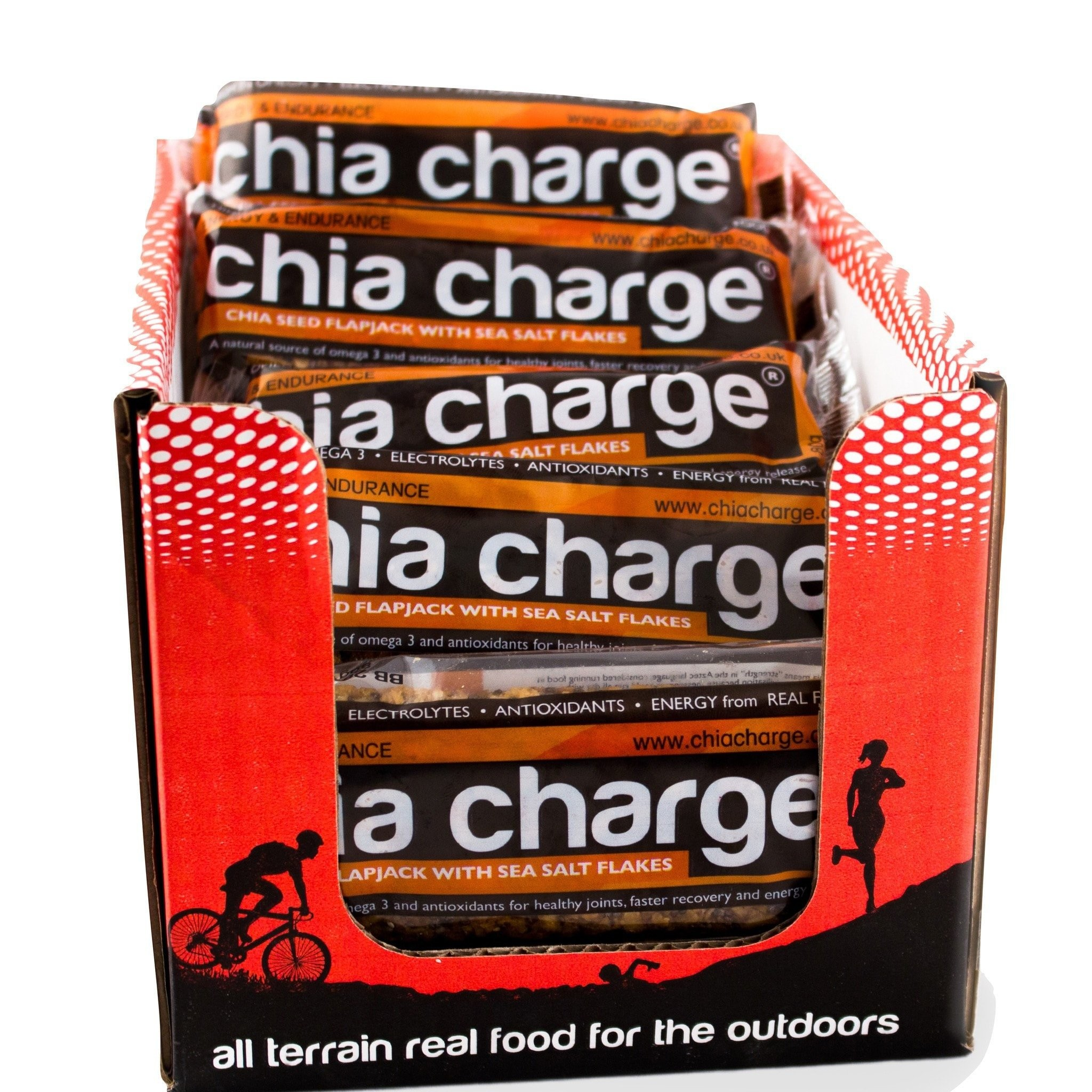 Caja Chia Charge 20 Barritas Energeticas de 80gr