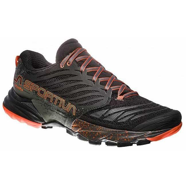 La Sportiva Akasha Shoes Black Orange