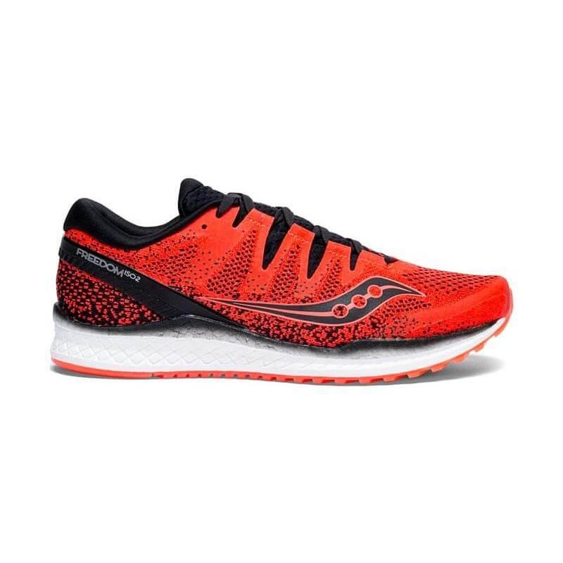 Zapatillas Saucony Freedom ISO 2 Rojo Hombre