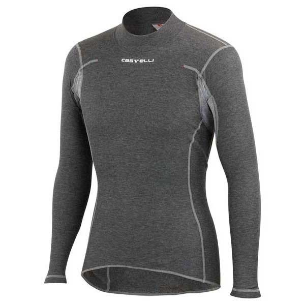 Camiseta Castelli Flanders m/l gris