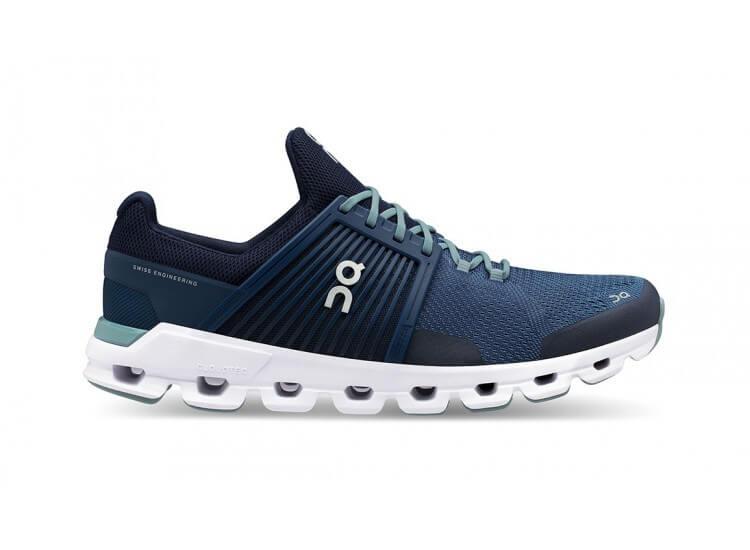 ON CloudSwift Men's Running Shoes Blue Denim Midnight
