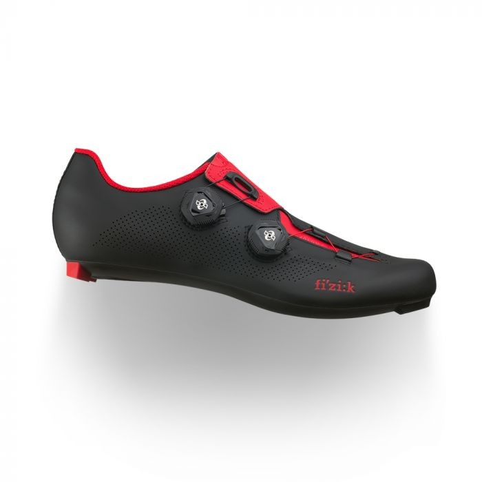 Zapatillas Fizik Aria R3 Negro Rojo