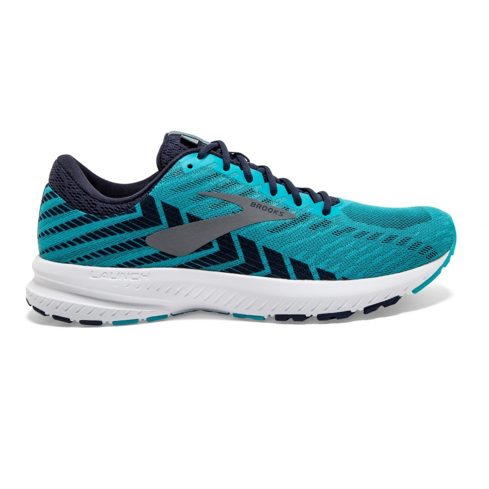Brooks Launch 6 Blue Turquoise AW19 Men's Running Shoes