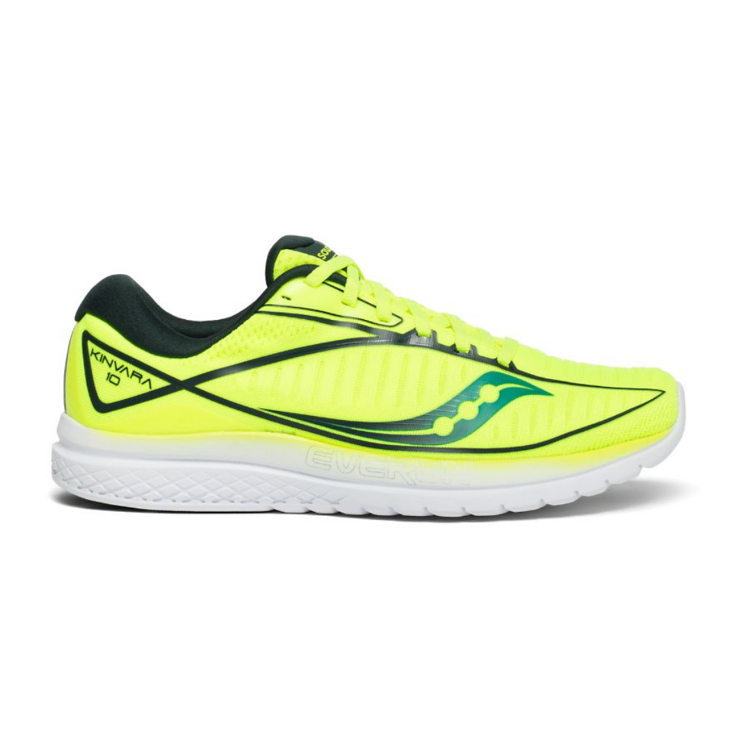 Saucony Kinvara 10 Yellow AW19 Men's Running Shoes