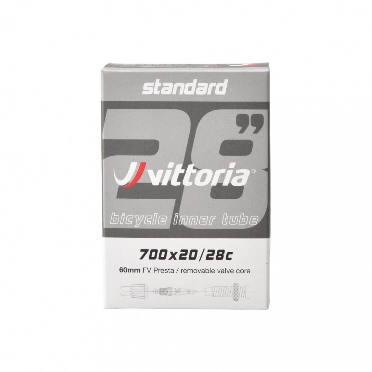 Cámara Vittoria STANDARD 700x20/28c Válvula 60 mm
