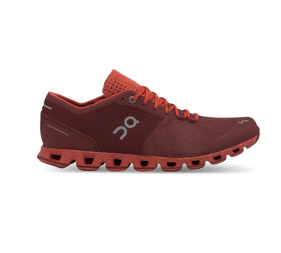 Zapatillas ON Cloud X Granate Sienna Rust