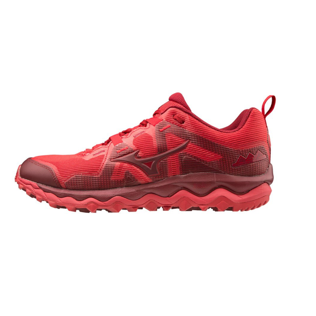 Zapatillas Mizuno Wave Mujin 6 Rojo PV20 Hombre