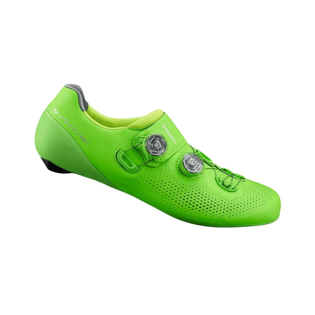 Zapatillas Shimano RC9 SPHYRE Road Verde