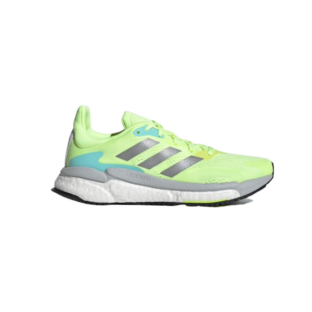 Zapatillas Adidas Solar Boost 3 Verde Azul Gris SS21 Mujer