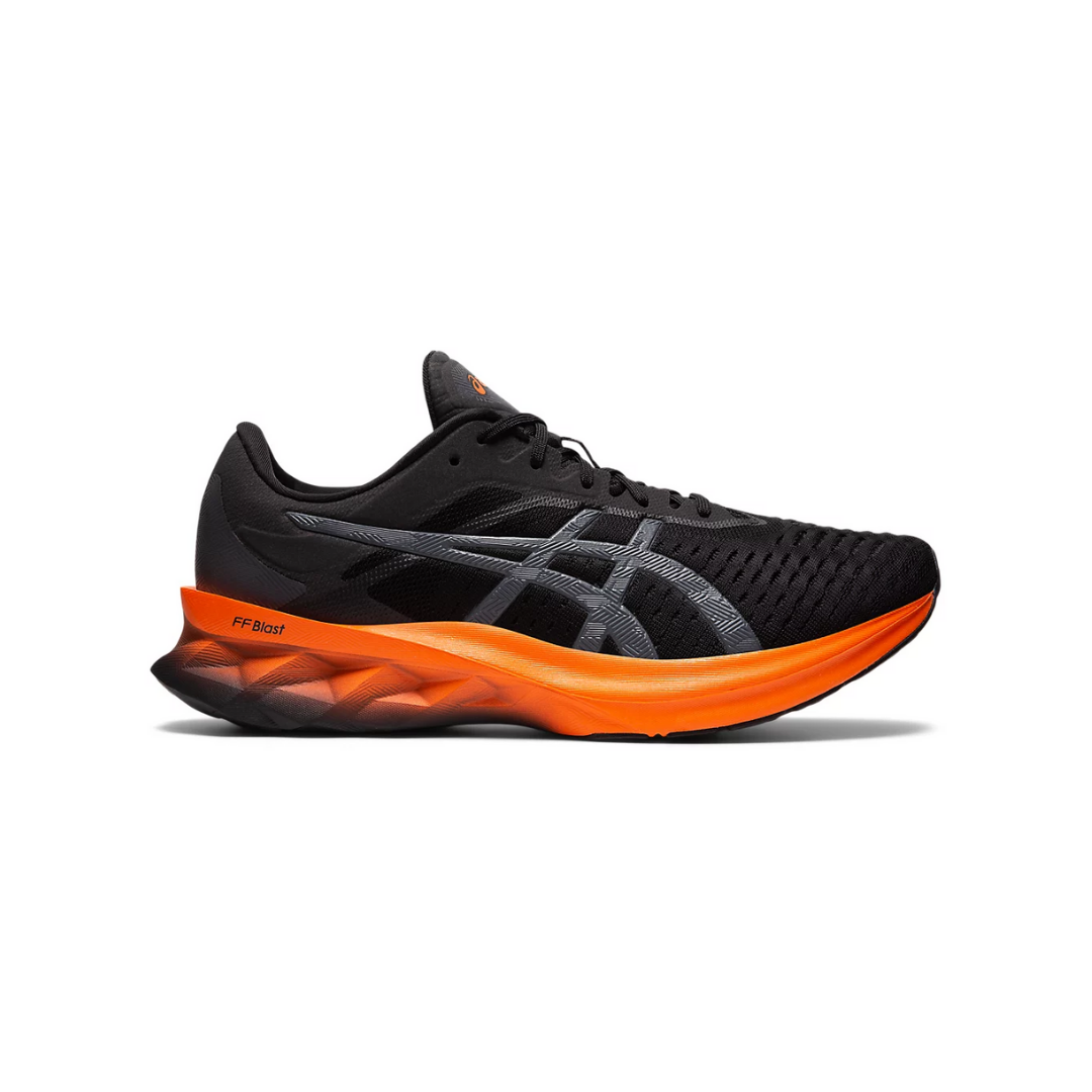 Asics Novablast Running Shoes Orange Black SS21