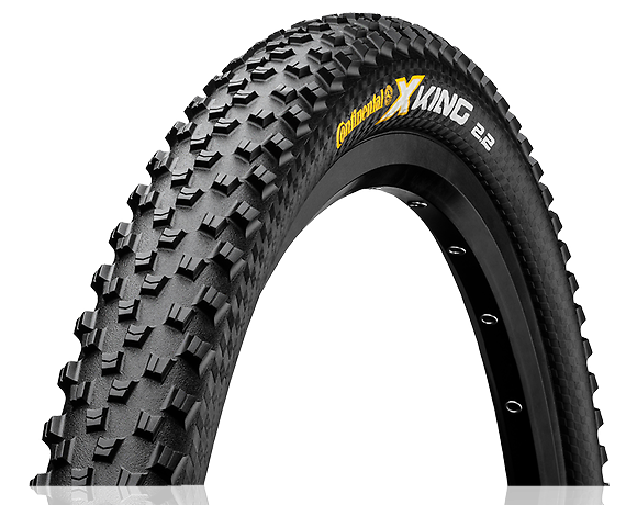 Cubierta Continental X King Protection 26, 27.5 o 29 x 2.20 Tubeless Ready